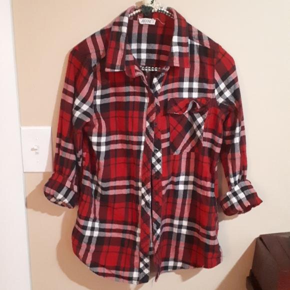 Ardenne medium plaid shirt